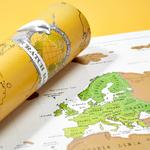 CHEZ UGO ET LEA image et culture luckies of london carte a gratter scratch map edition voyage 2