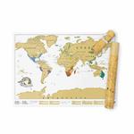 CHEZ UGO ET LEA image et culture luckies of london carte a gratter scratch map edition voyage 4