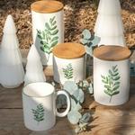 jolipa j line tasse mug en porceleine blanche avec une feuille verte une idee cadeau art de la table  (3)