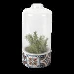Photophore terrarium ustique Carreaux de ciment chez ugo & léa 1