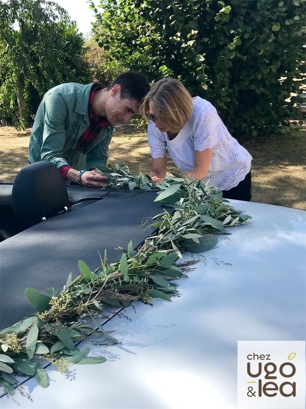 CHEZ UGO & LÉA Artisans fleuristes event & wedding,  événements & mariage 1