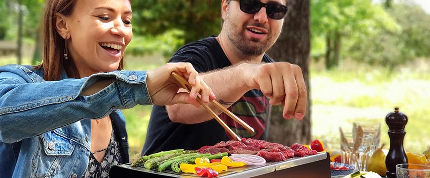 cookut barbecue transportable yaki une idee cadeau pour vos pic nique chez ugo et lea