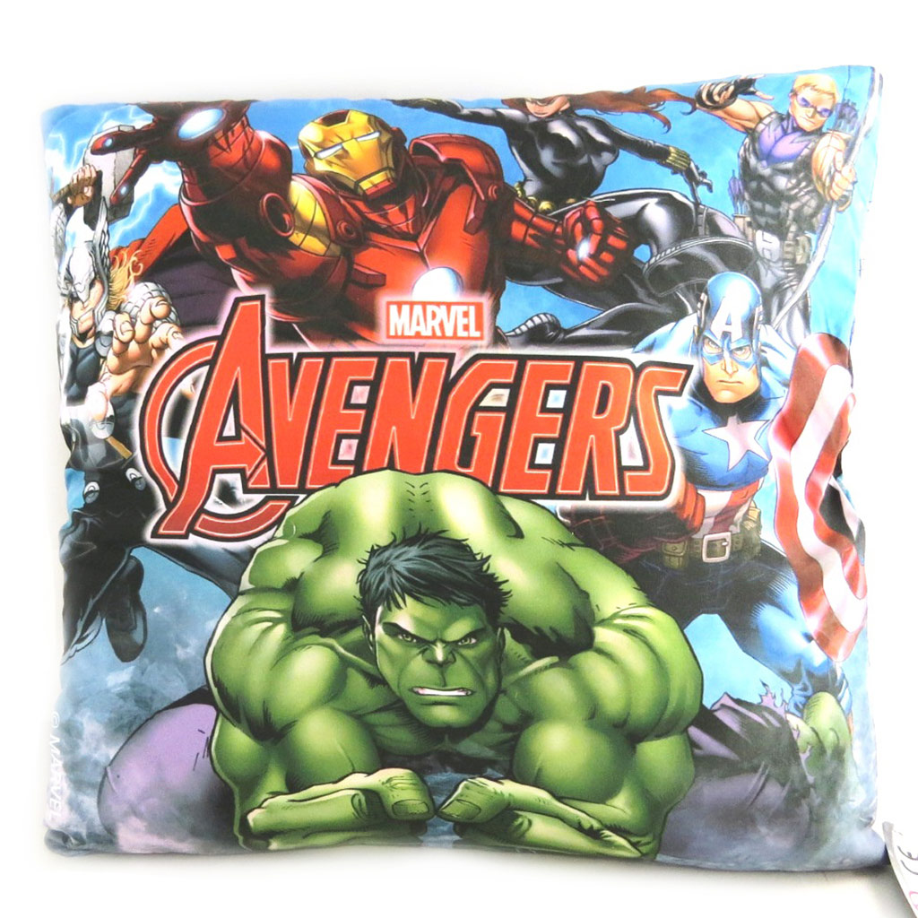 Coussin créateur \'Avengers\' multicolore - 40 cm - [N0439]