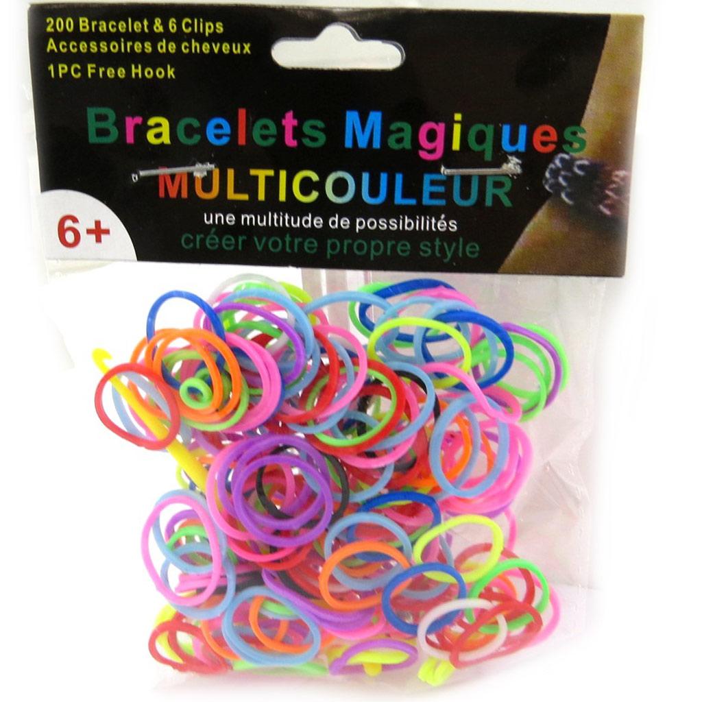 \'Looms\' ou \'bracelets magiques\' tutti frutti - [L5609]