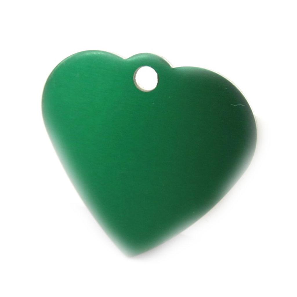 Médaille Animaux \'Coeur\' Vert - [C3730]