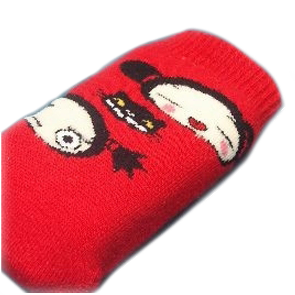 Chaussette Portable \'Pucca\' Rouge - [C5690]