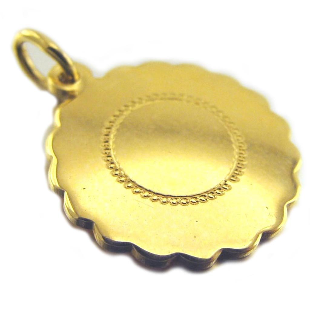 Médaille Plaqué Or \'Innocence\' Vierge - [D9537]