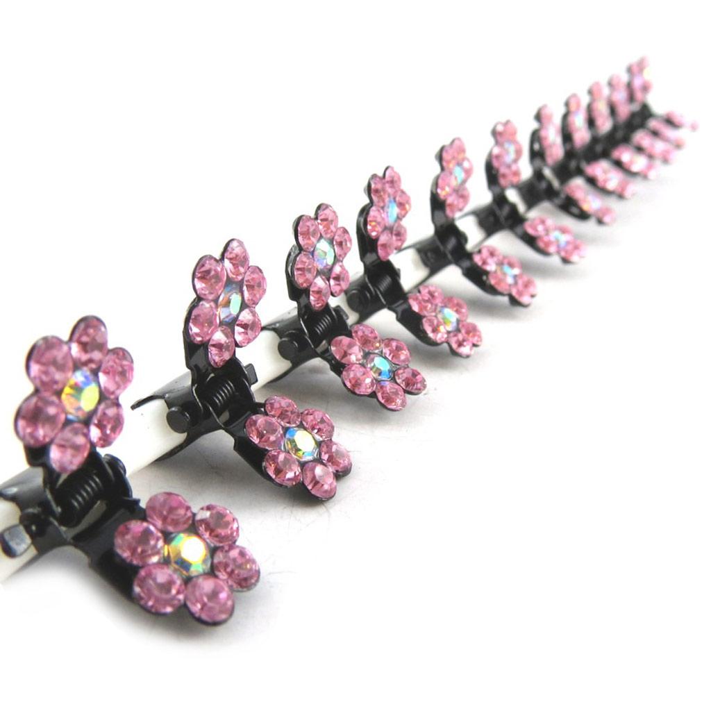 12 minis pinces \'Sissi\' rose  - [K7984]