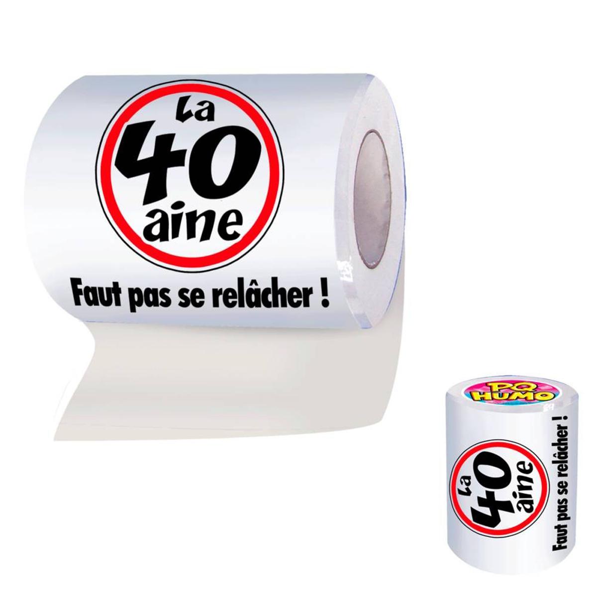 Rouleau WC \'40 ans\'  - [H7071]
