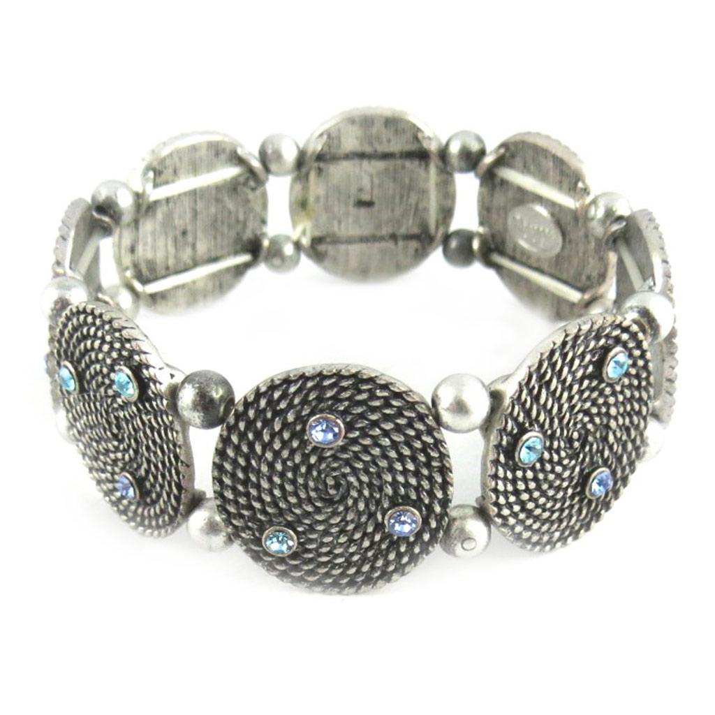 Bracelet Créateur \'Neolys\' bleu/Bleu  - [E0364]