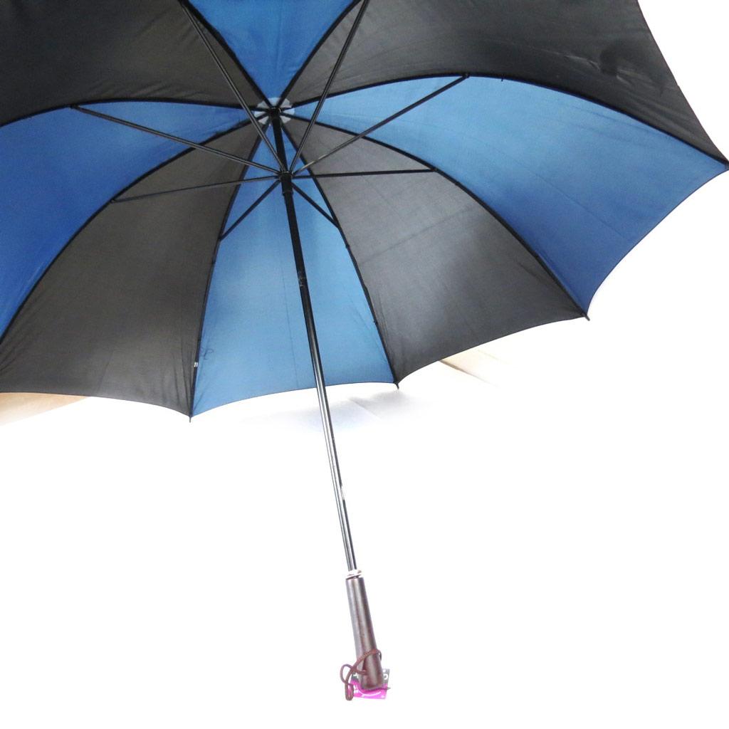 Parapluie canne Neyrat \'Coloriage\' noir bleu - [K0318]