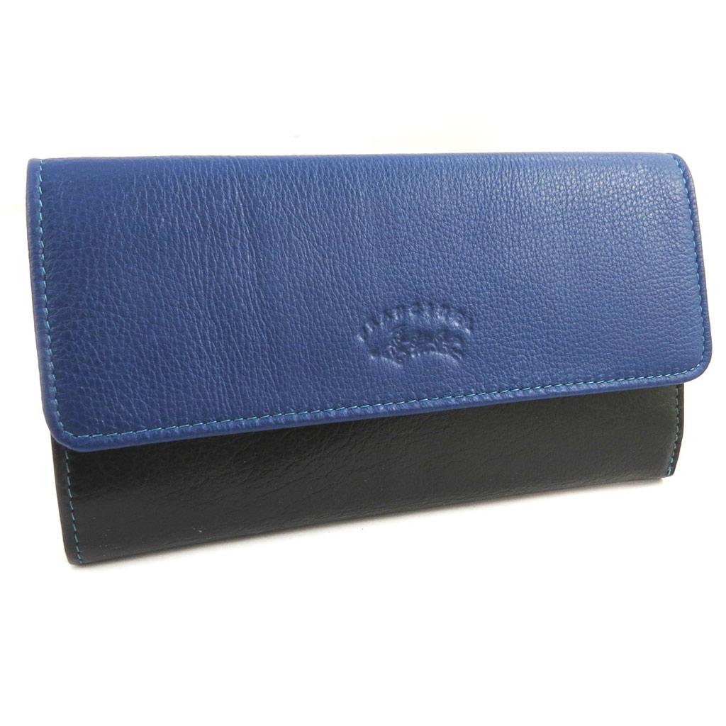 Grand porte-cartes \'Troubadour\' bleu multicolore - [M0564]