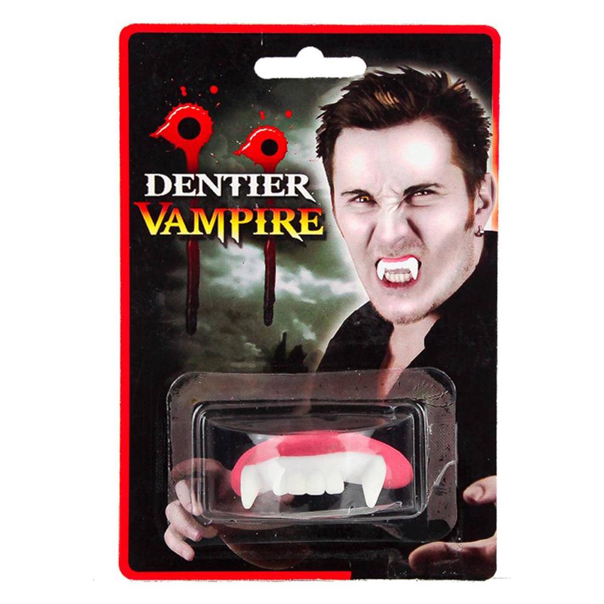 Fausses dents \'Dents de Vampire\'  - [K0449]