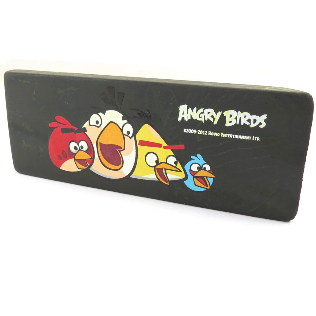 Maxi gomme \'Angry Birds\' noir multicolore - [K0750]