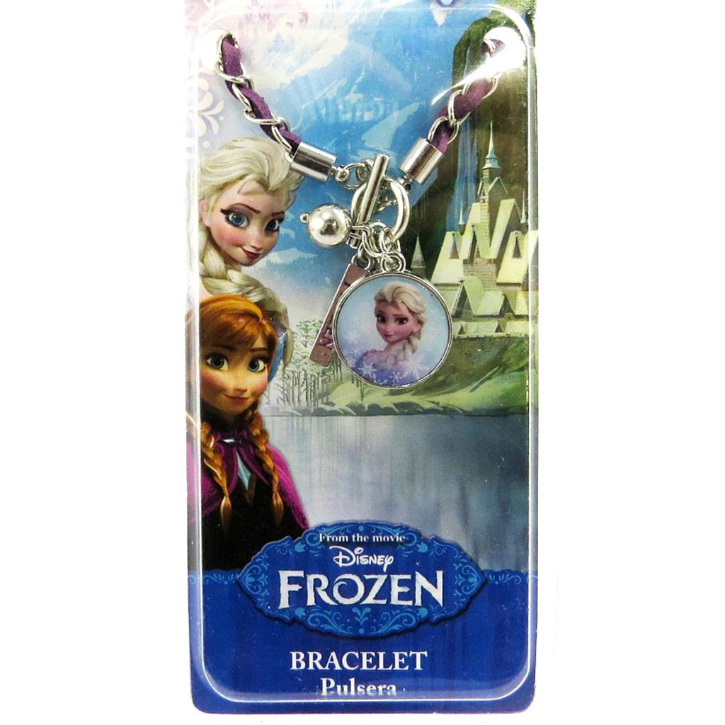 Bracelet créateur \'Frozen - Reine des Neiges\'  bleu (Elsa) - [M1038]
