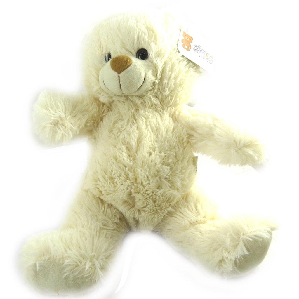Peluche classique \'Teddy\' beige (38 cm) - [M1051]