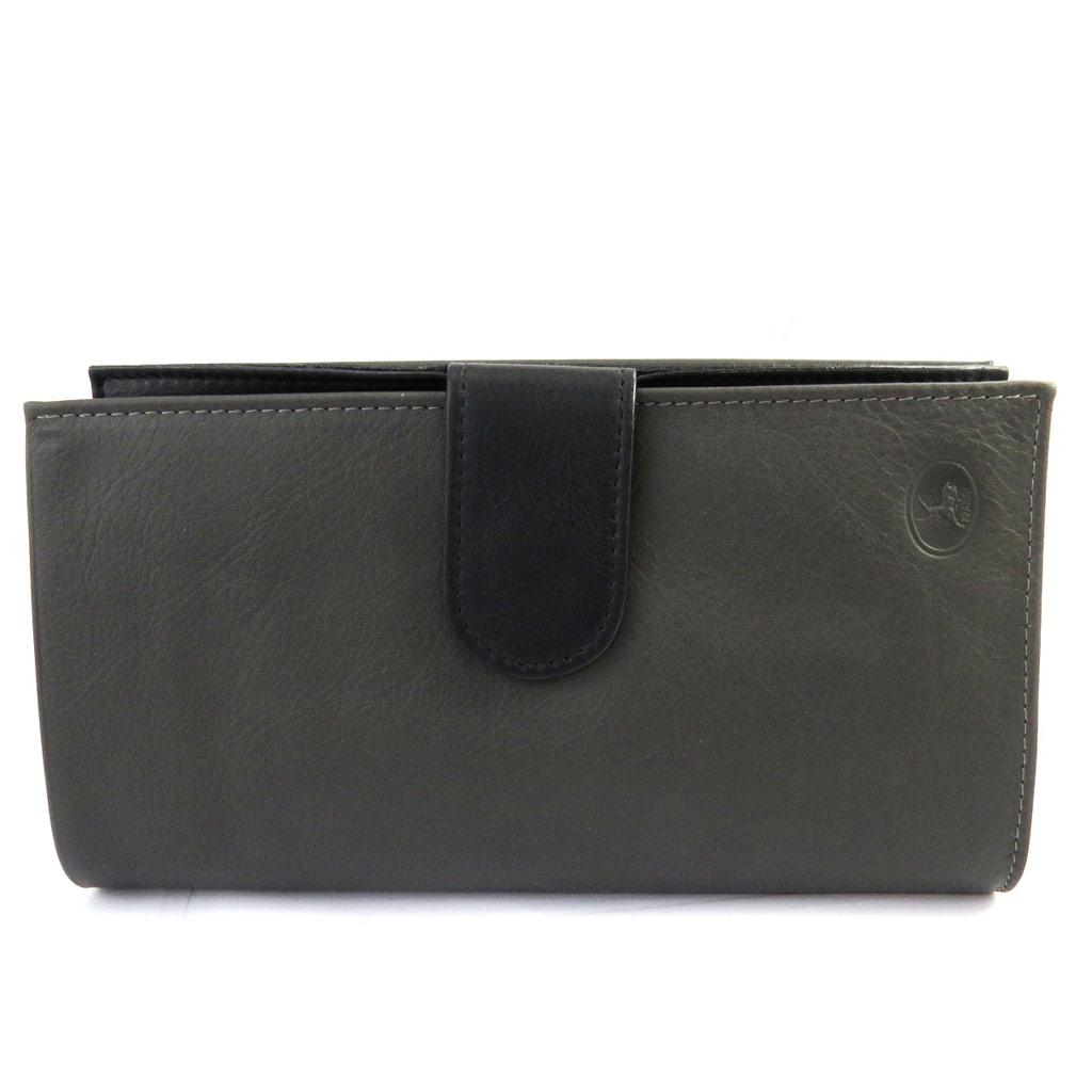 Compagnon Cuir \'Frandi\' gris anthracite noir - [M1064]