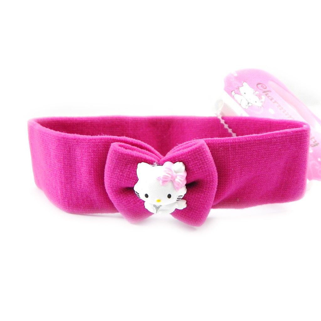 Bandeau \'Charmmy Kitty\' rose fuschia - [I1746]