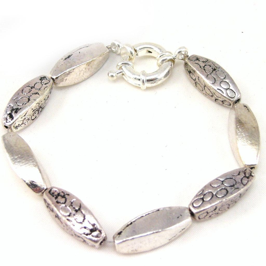 Bracelet \'Kilimanjaro\' Argenté - [F5249]