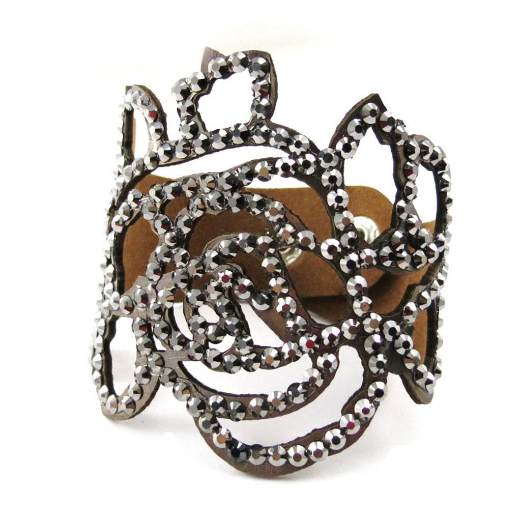 Bracelet Créateur \'Sissi\' gris - [J1160]