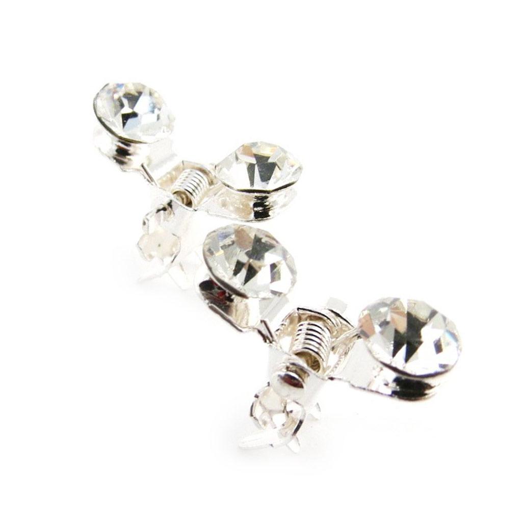 Minis Pinces Créateur \'Cristal\' blanc  - [J1336]