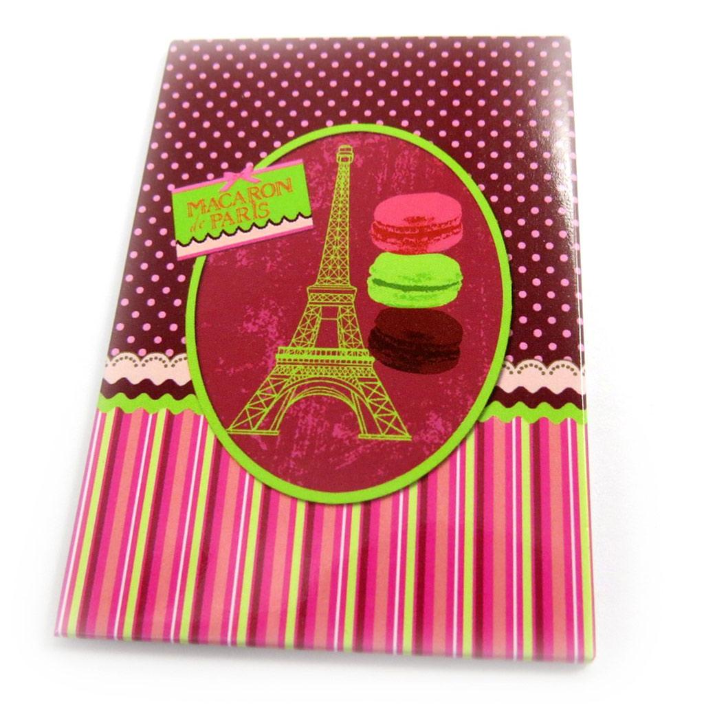 Magnet \'Macarons de Paris\' rose vert - [M1353]