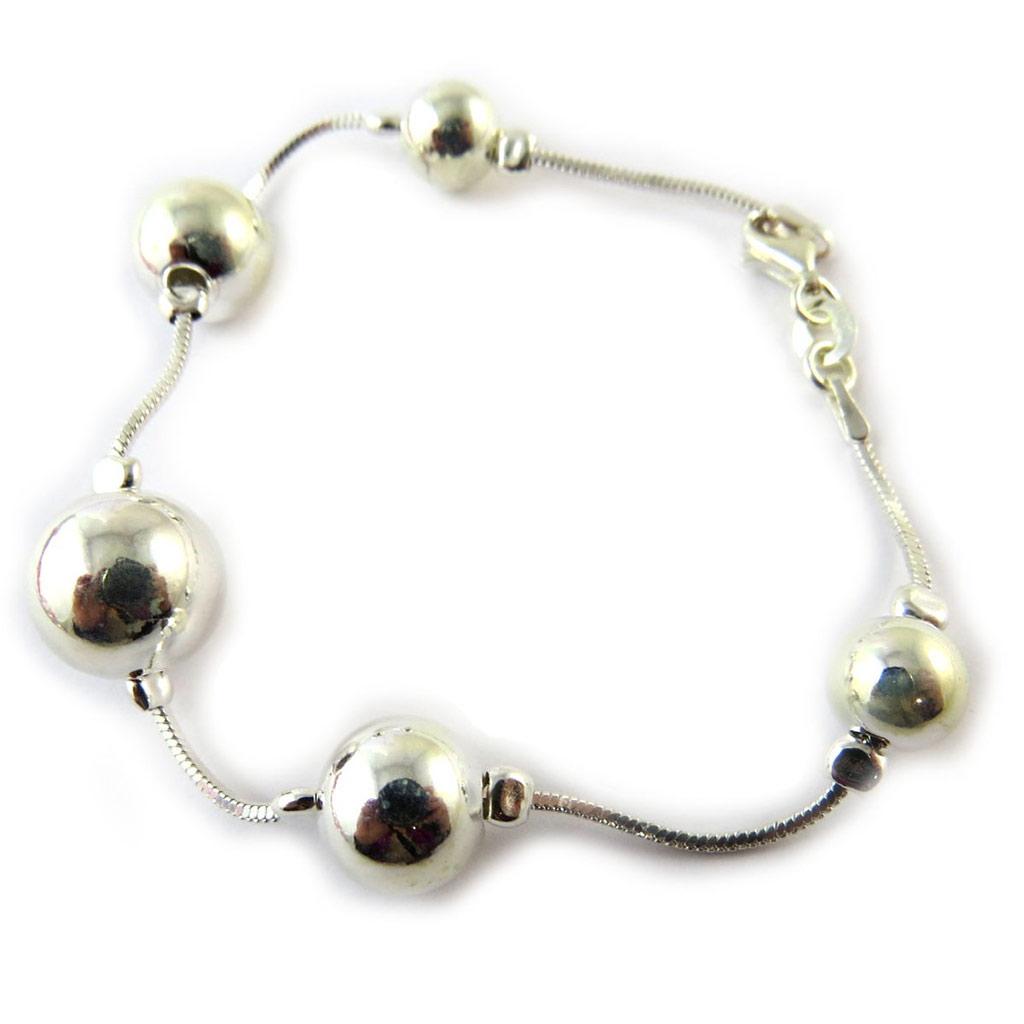 Bracelet Argent \'Chorégraphie\'  - [G1732]
