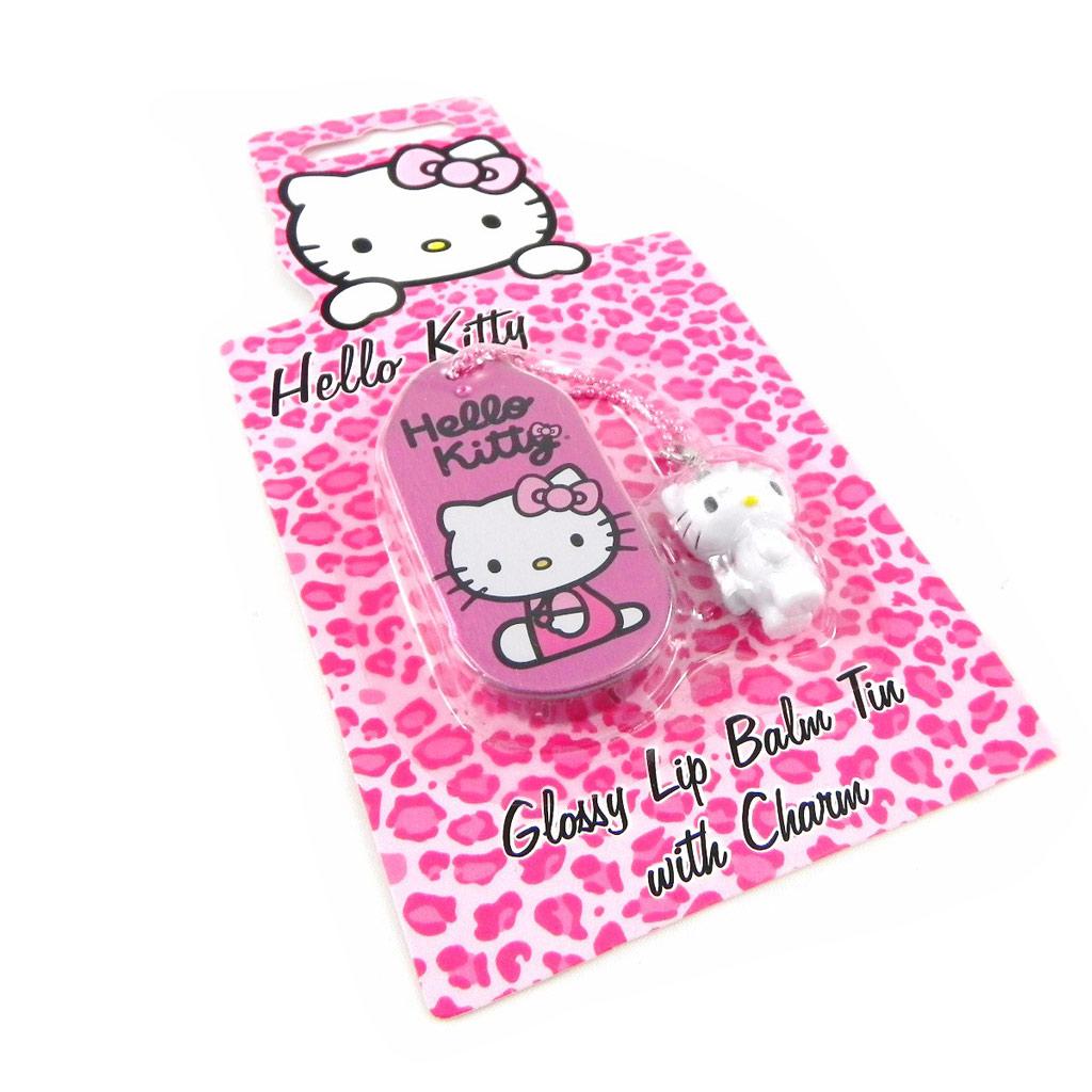 Gloss \'Hello Kitty\' rose + accessoire téléphone - [H2789]