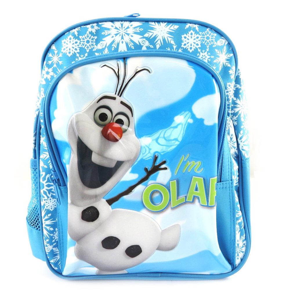 Sac à dos créateur \'Frozen - Reine des Neiges\' Olaf bleu blanc (23x28x10 cm) - [M1652]