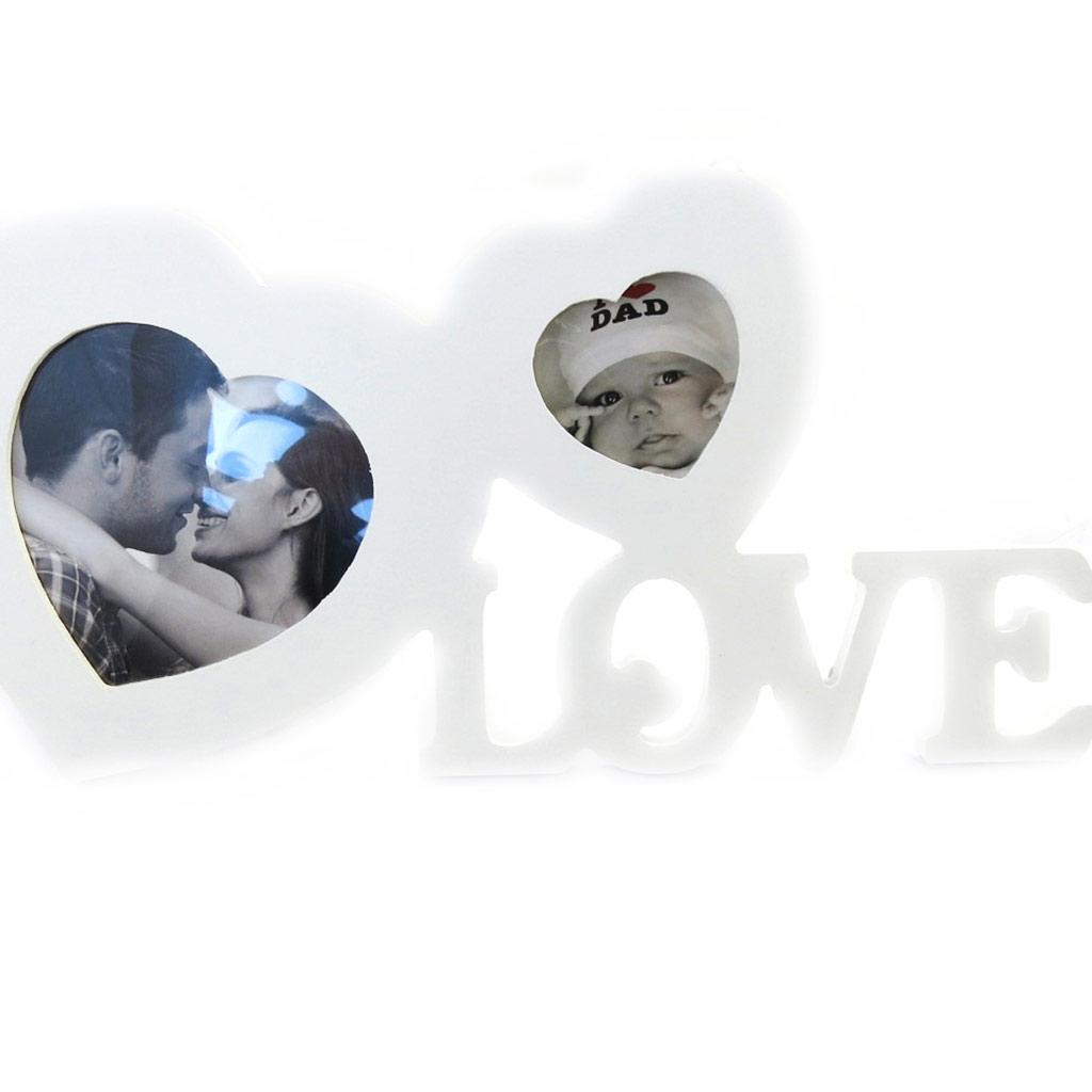 Pêle Mêle \'Love\' blanc  - [M1675]
