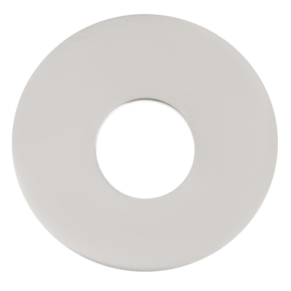 Pendentif Argent \'Ecu\' argenté gravable (rhodié) - 20 mm - [R0687]
