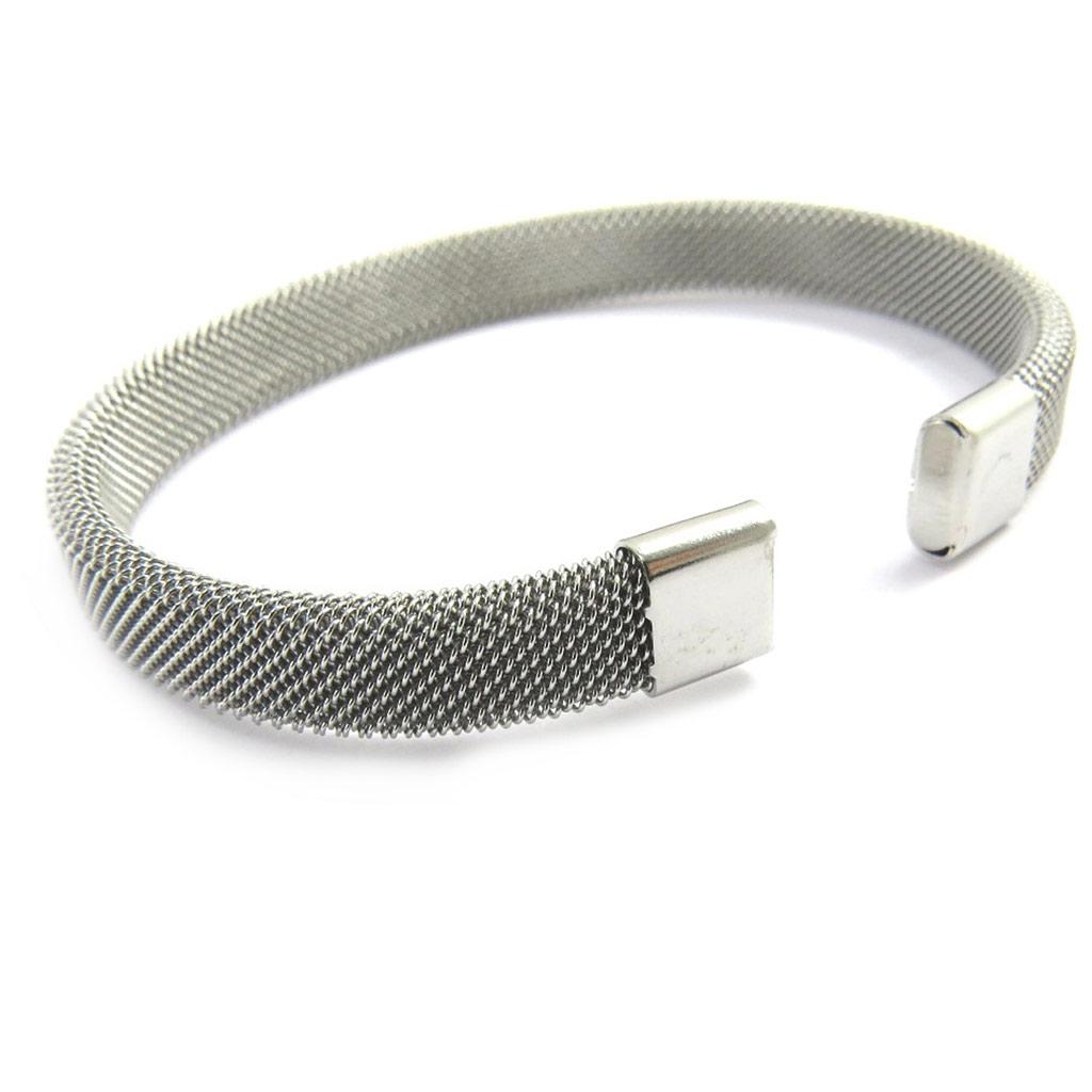 Bracelet \'Peaceful\' argenté - [M1943]