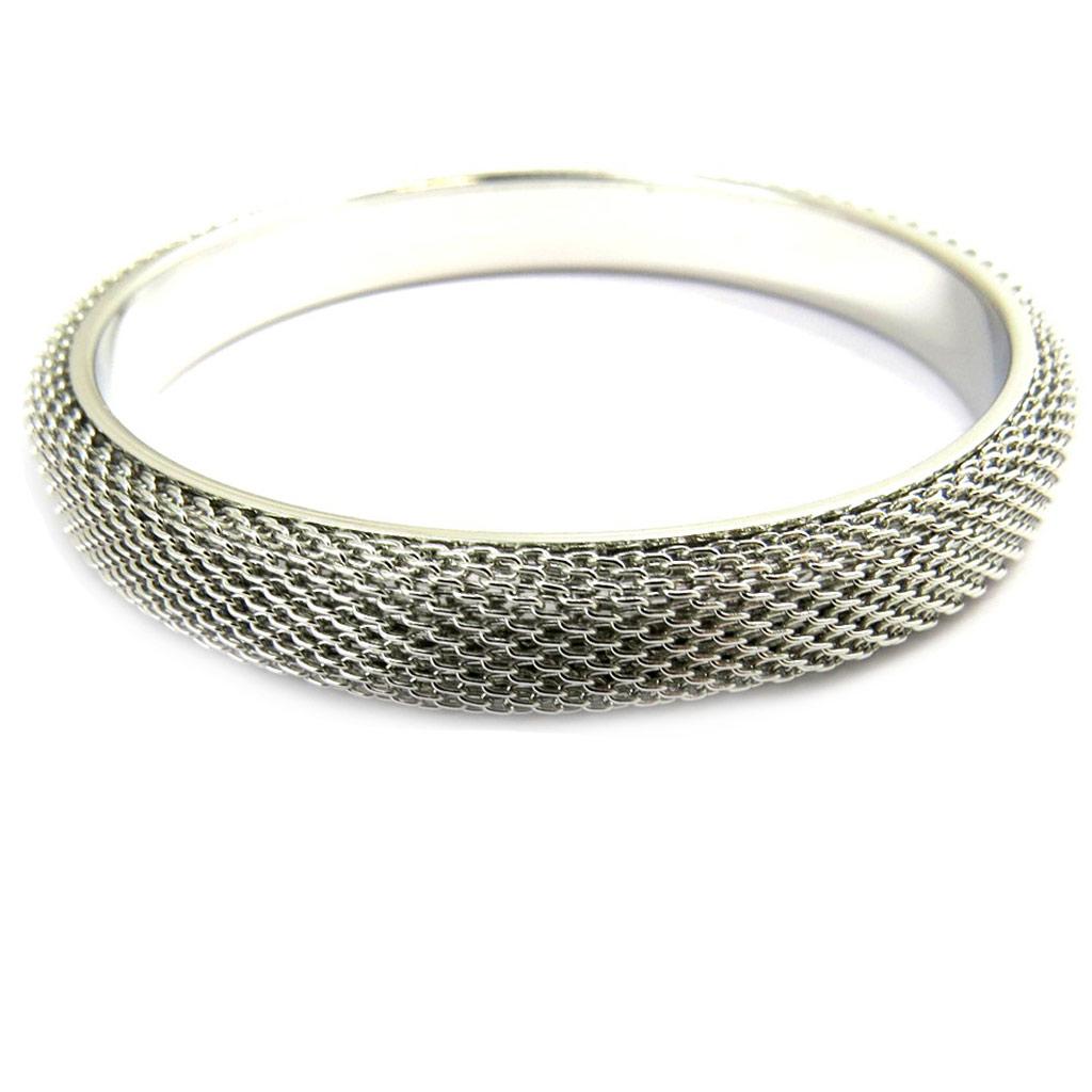 Bracelet \'Chorégraphie\' argenté - [M1945]