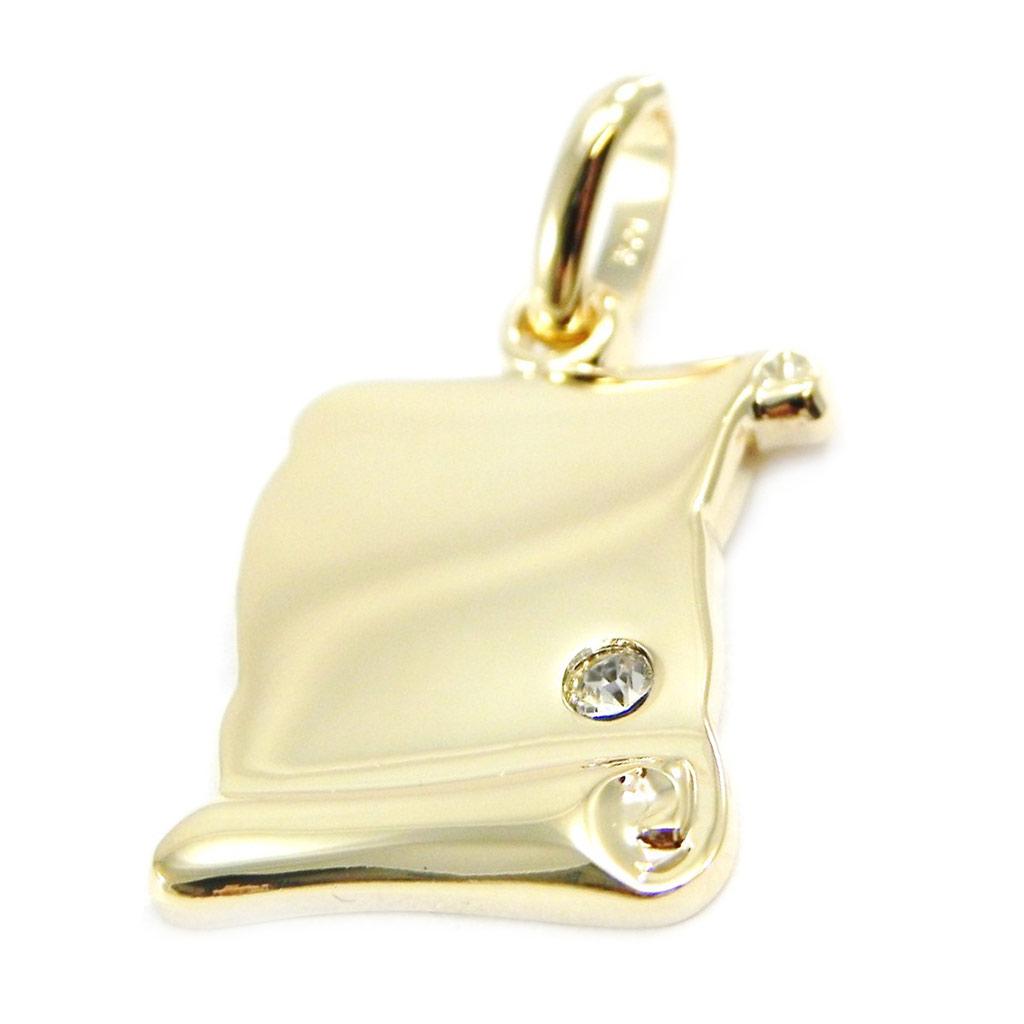 Médaille Plaqué Or \'Parchemin\'  - [G2336]