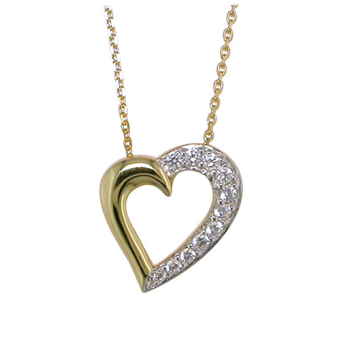Collier Plaqué Or \'Love\'  - [F7129]