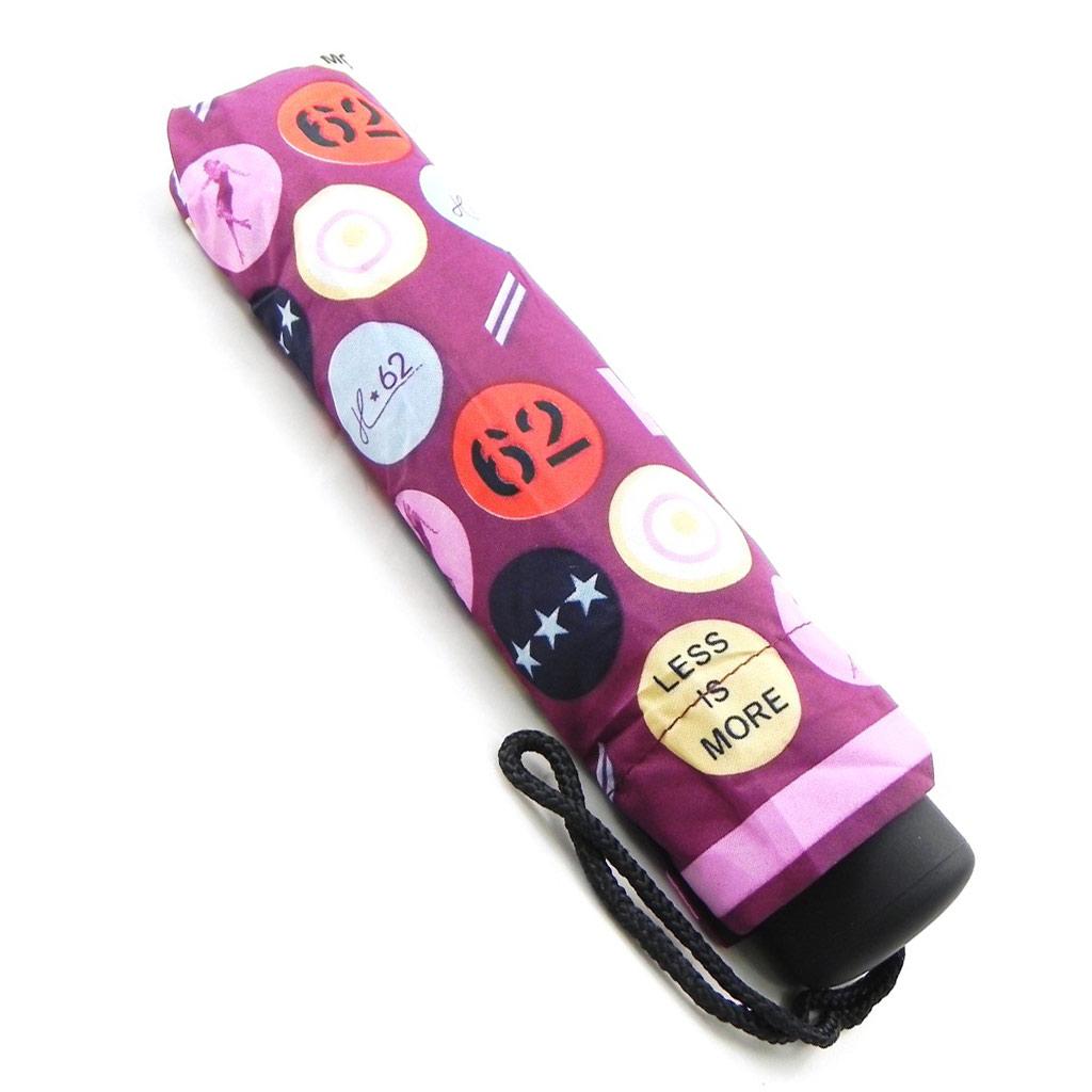 Parapluie automatique \'Daniel Hechter\' violet multicolore - [I3574]