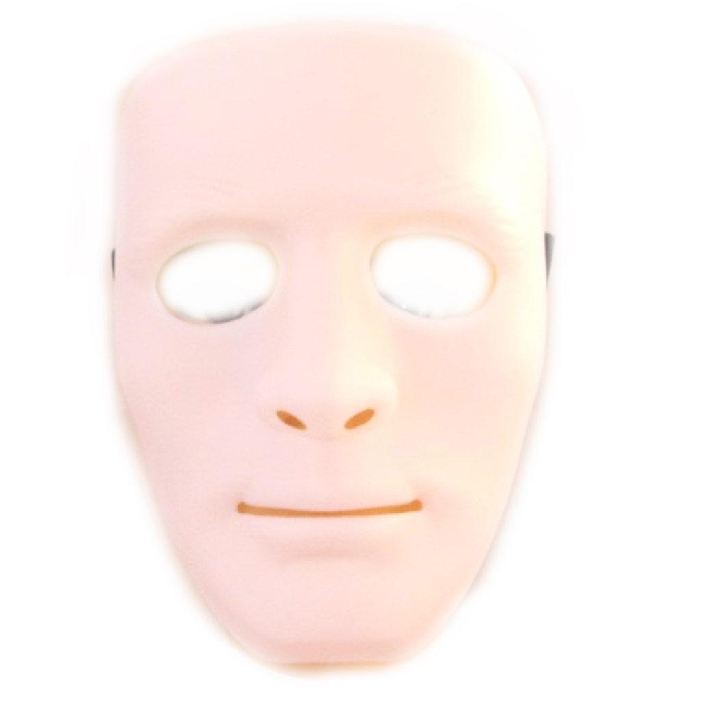 Masque de déguisement \'Don Juan\' blanc - [M2250]