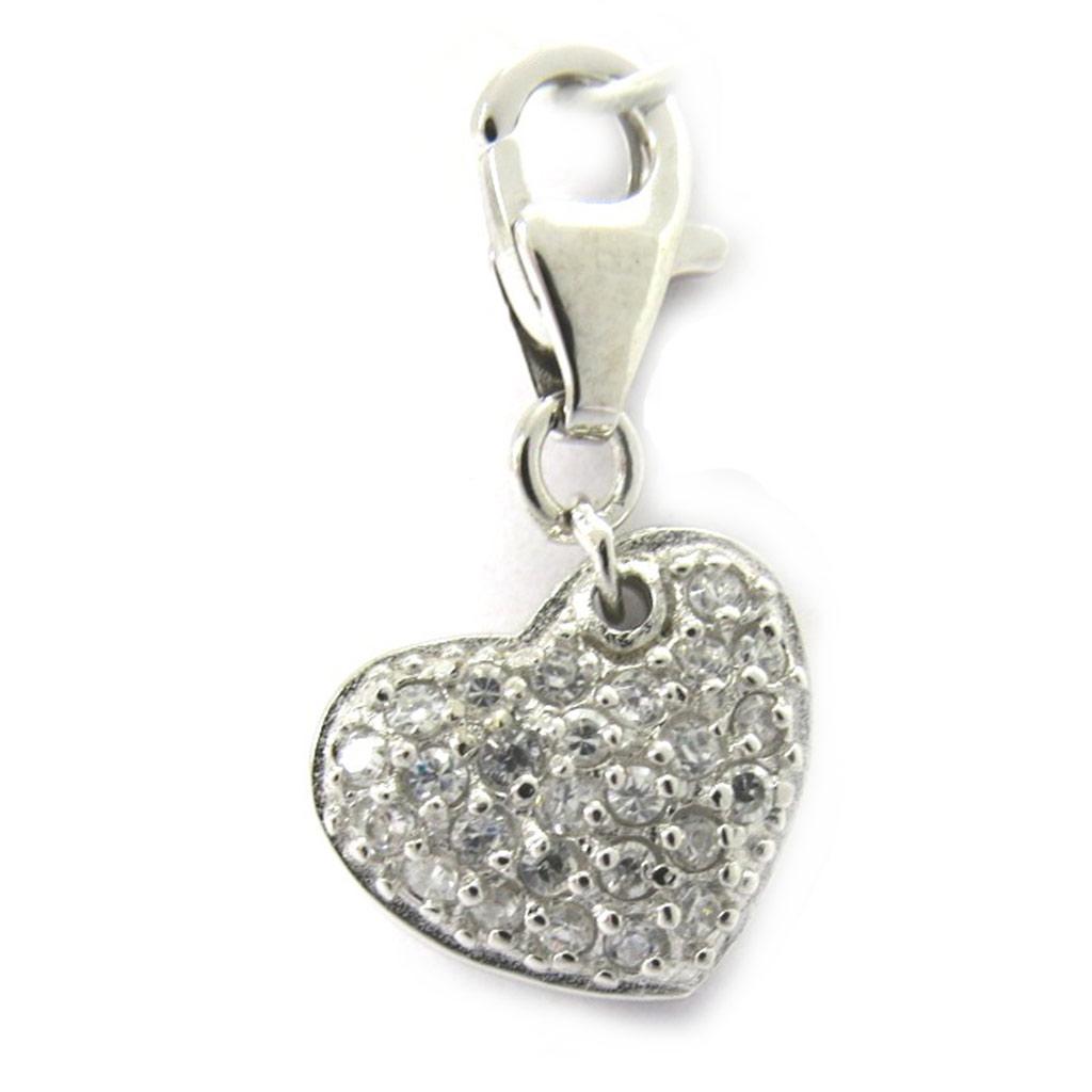 Pendentif Charm \'Love\' Argent - [G2811]
