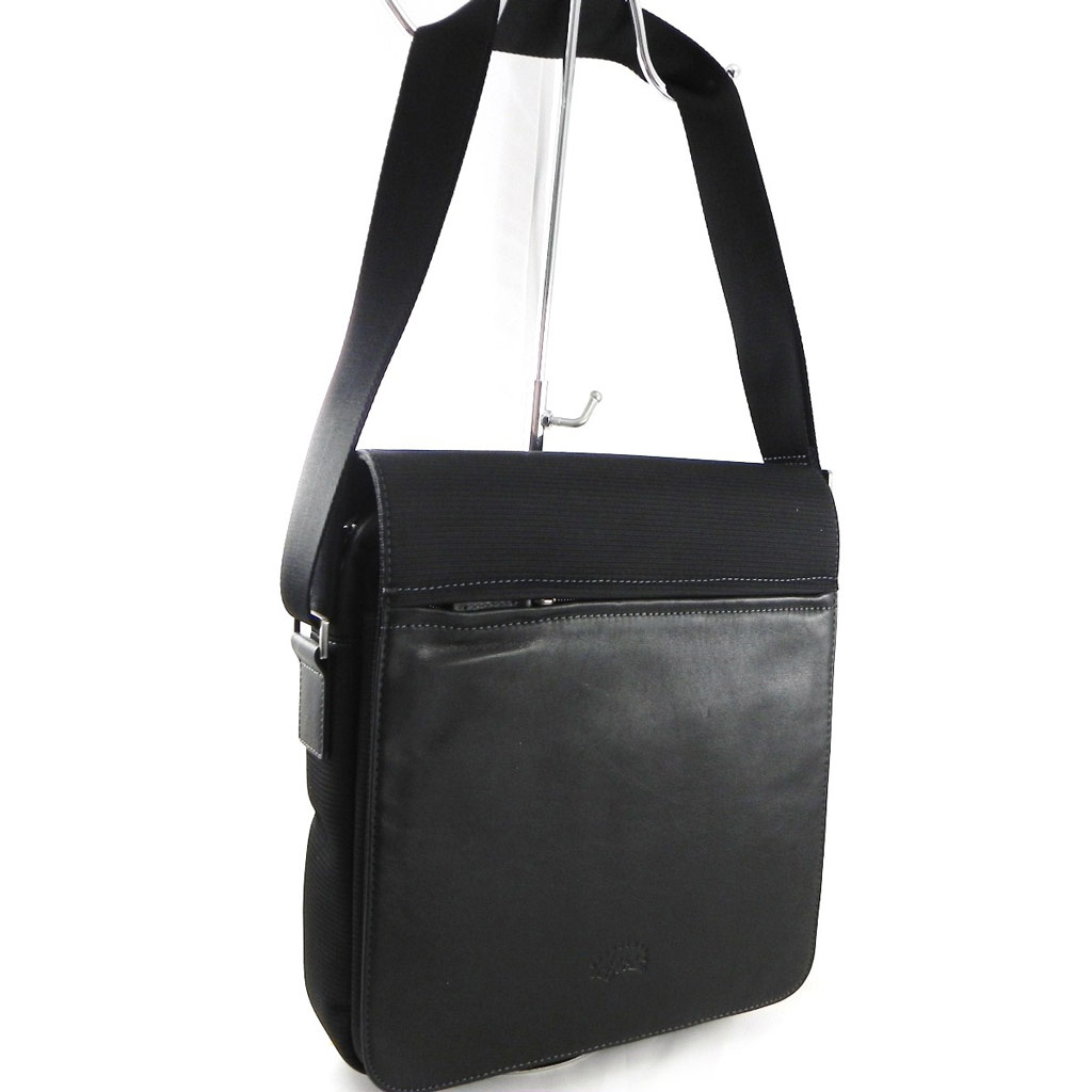 Besace \'Lafayette\' noir - [F7252]