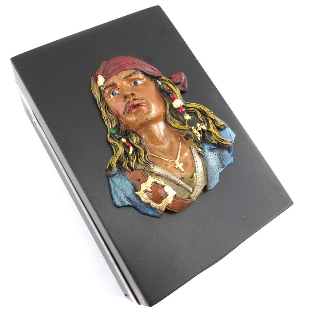 Boite à secrets / Vide Poche \'Pirate\'  - [G3244]