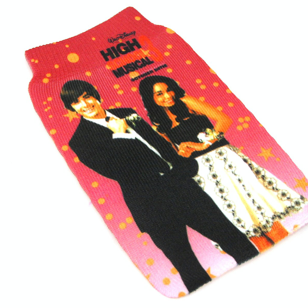 Chaussette Portable \'High School Musical\' rouge - [F8673]