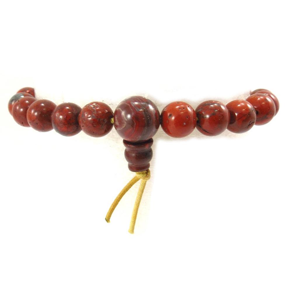 Bracelet créateur \'Minéralia\' marron - [K3060]