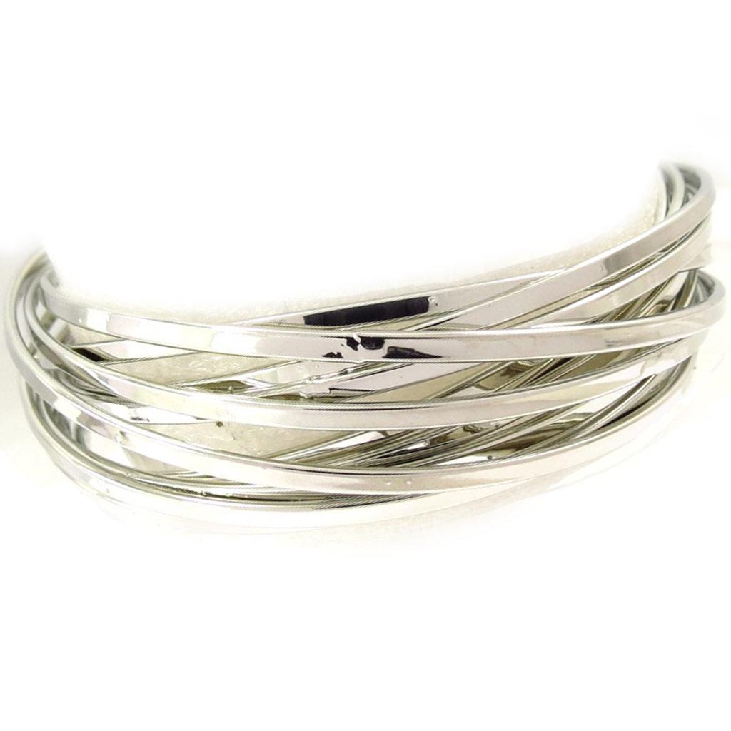 Bracelet \'Chorégraphie\' argenté - [K3275]