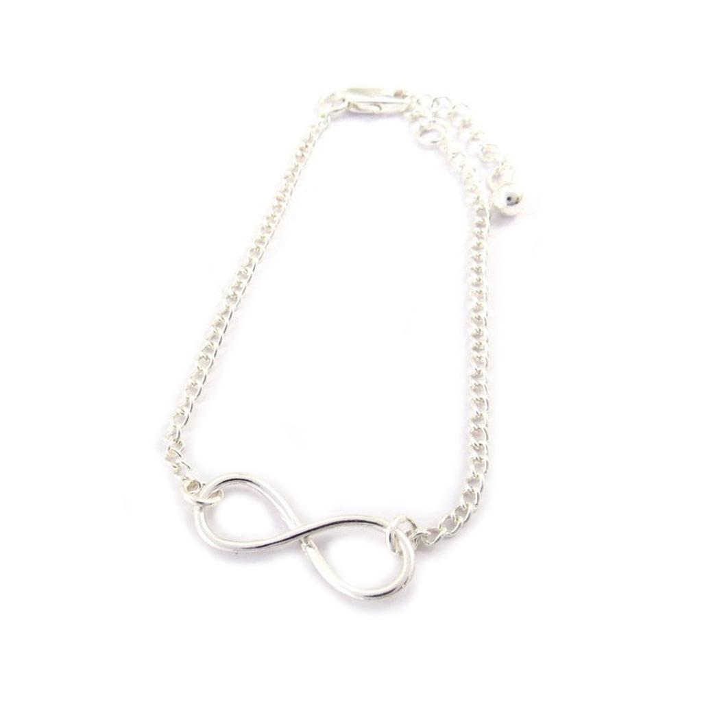 Bracelet \'Infini\' Argenté  - [K3284]