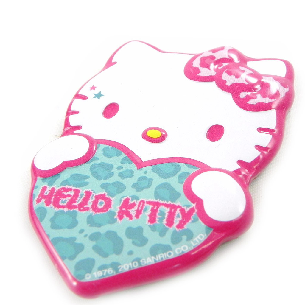 Magnet \'Hello Kitty\' turquoise rose - [H5367]