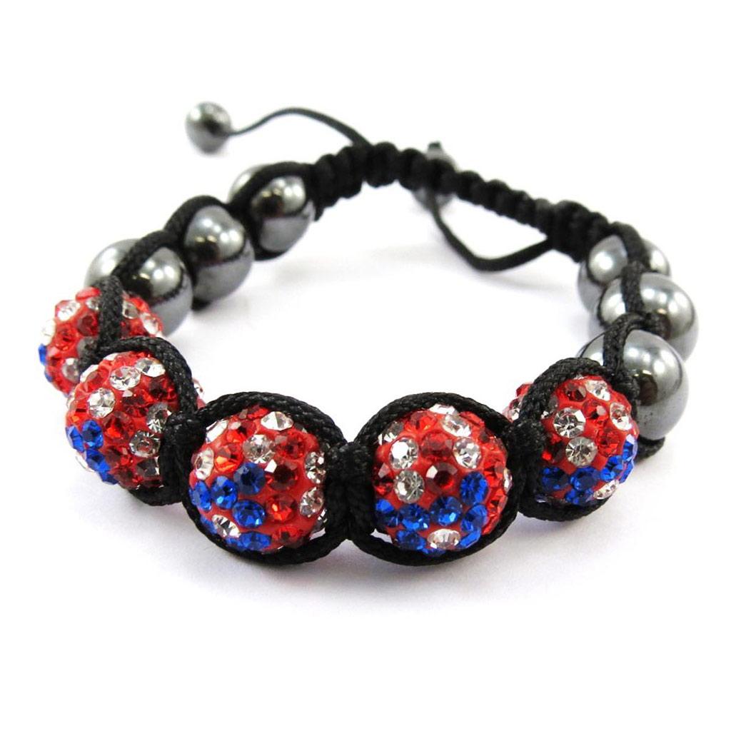 Bracelet ethnique \'Shambhala\' America - [J4061]