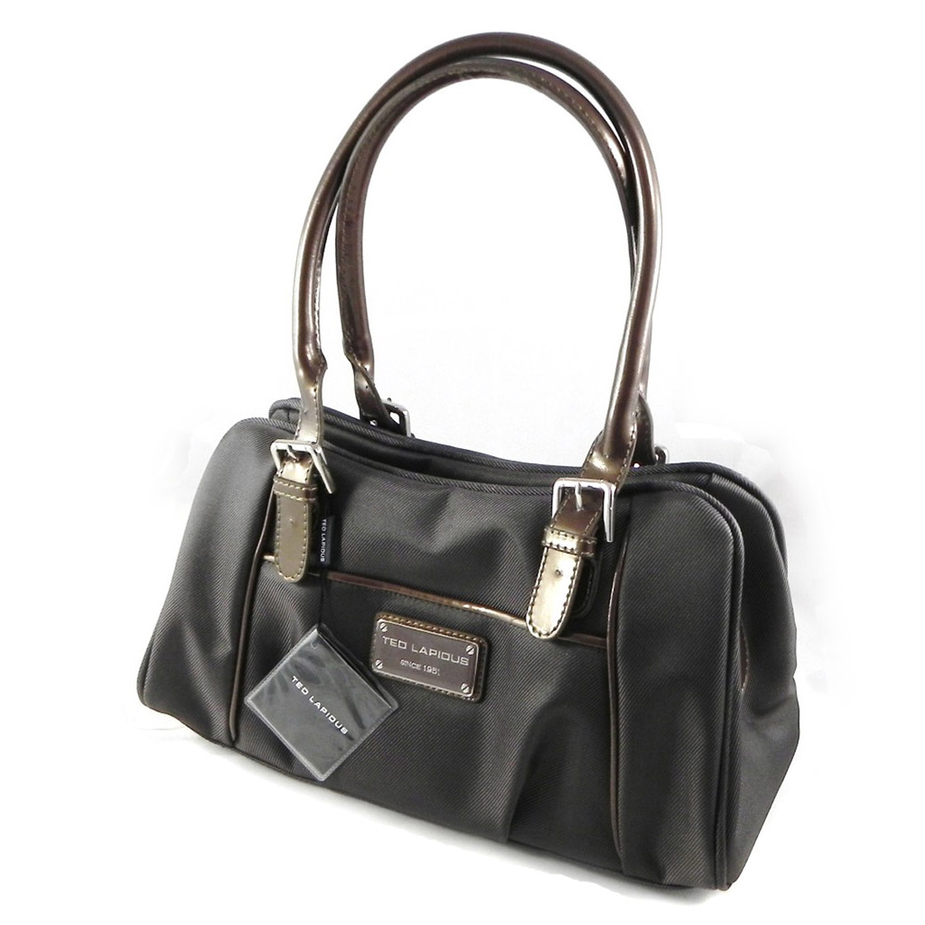 Sac \'Ted lapidus\' gris taupe - [H5842]