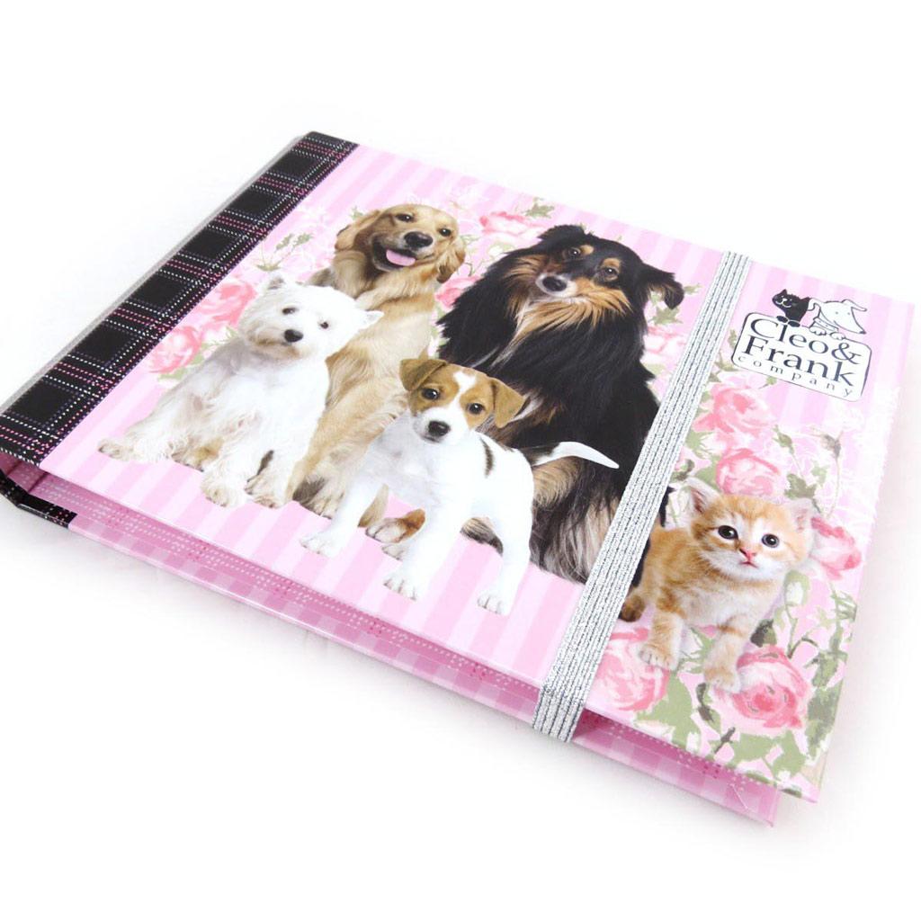 Journal Intime \'Cleo & Frank\' rose  - [J4364]