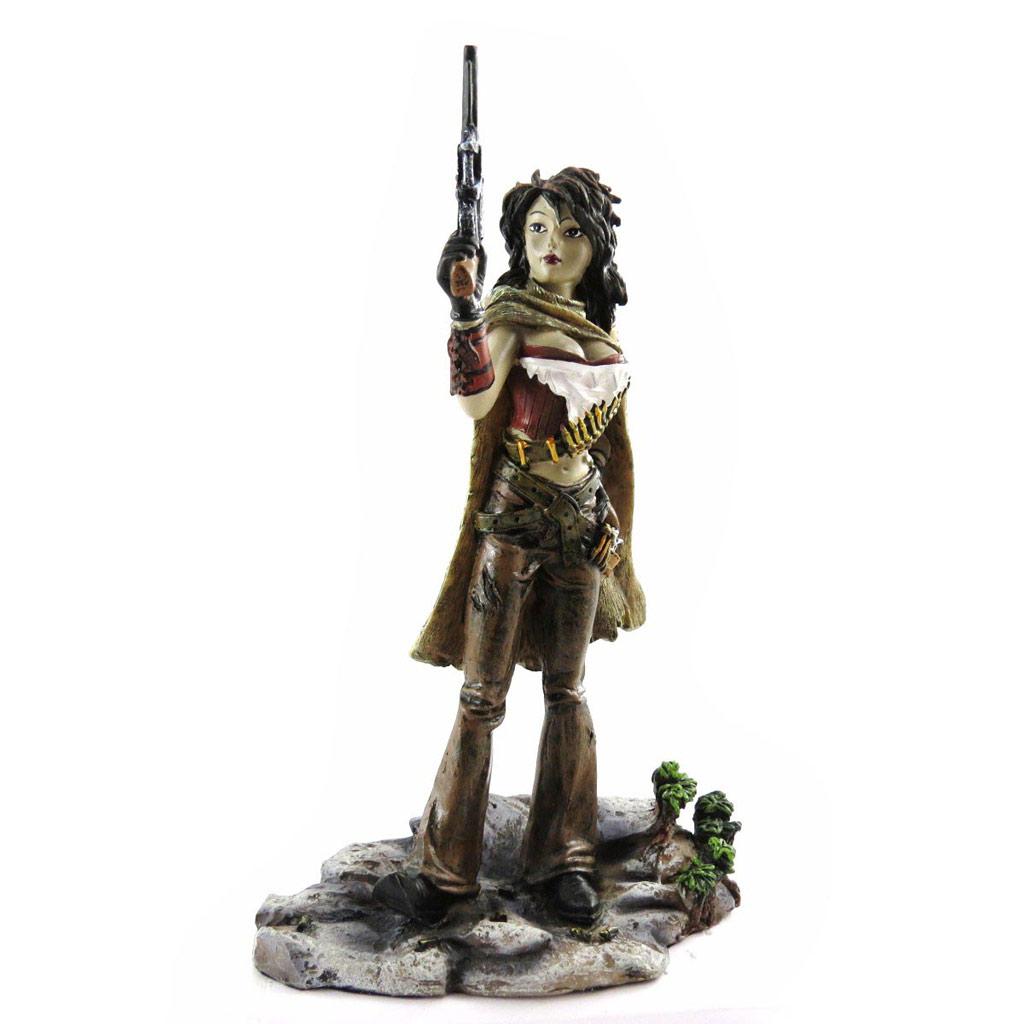 Figurine \'Bandidas\' guerrière du Nouveau Mexique - [J4847]