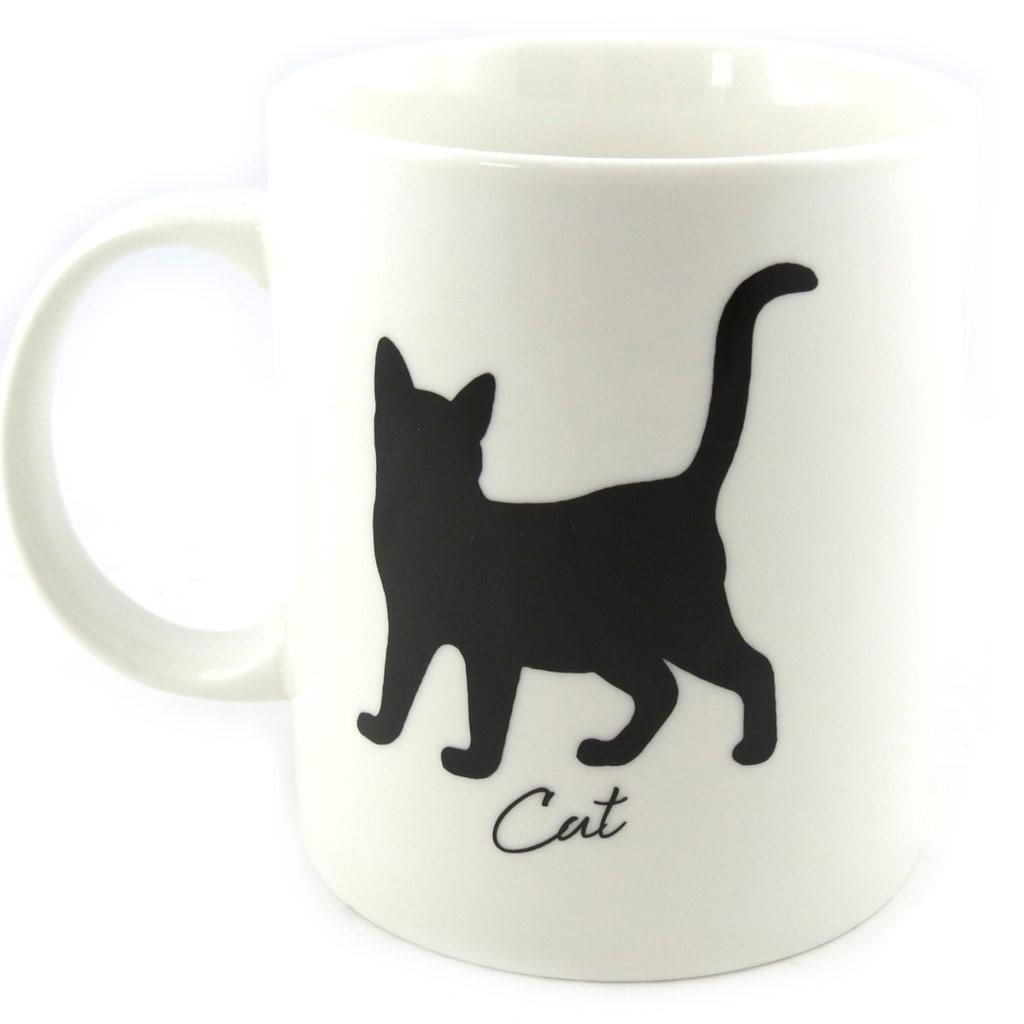 Mug \'Cat\' ivoire - [M4014]